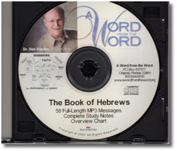 Book of Hebrews - CD