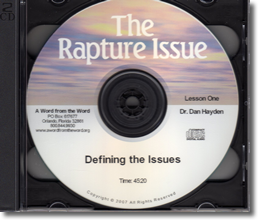 The Rapture Issue
